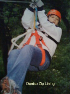 Denise Zip Lining How To Stay Fit Over 50