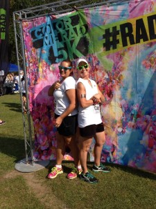 Color Run 5K With Coach Becky HowToStayFitOver50.com