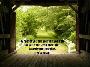 Control Your Thoughts #yesyoucan