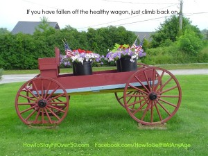 Fall Off The Wagon - How To Stay Fit Over 50