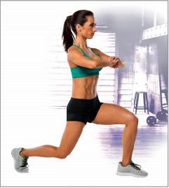 Lunge from 21 Day Fix  HowToStayFitOver50.com