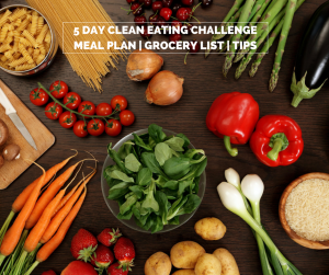 5 day clean eating