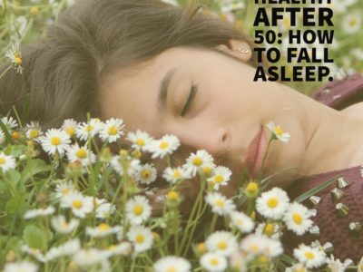 healthy living over 50 how to fall asleep